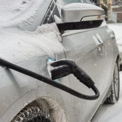 Hybrid Car Charging in Winter