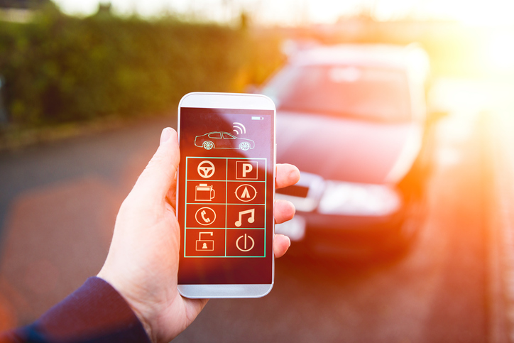 app to control your car