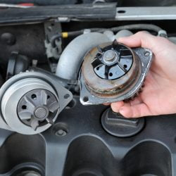 image of automative water pump