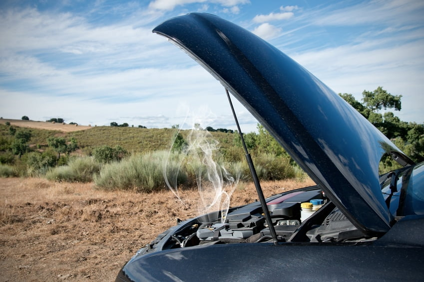 What happens if my car overheats?