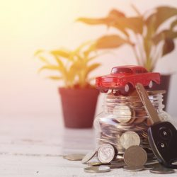 car saving money resolutions