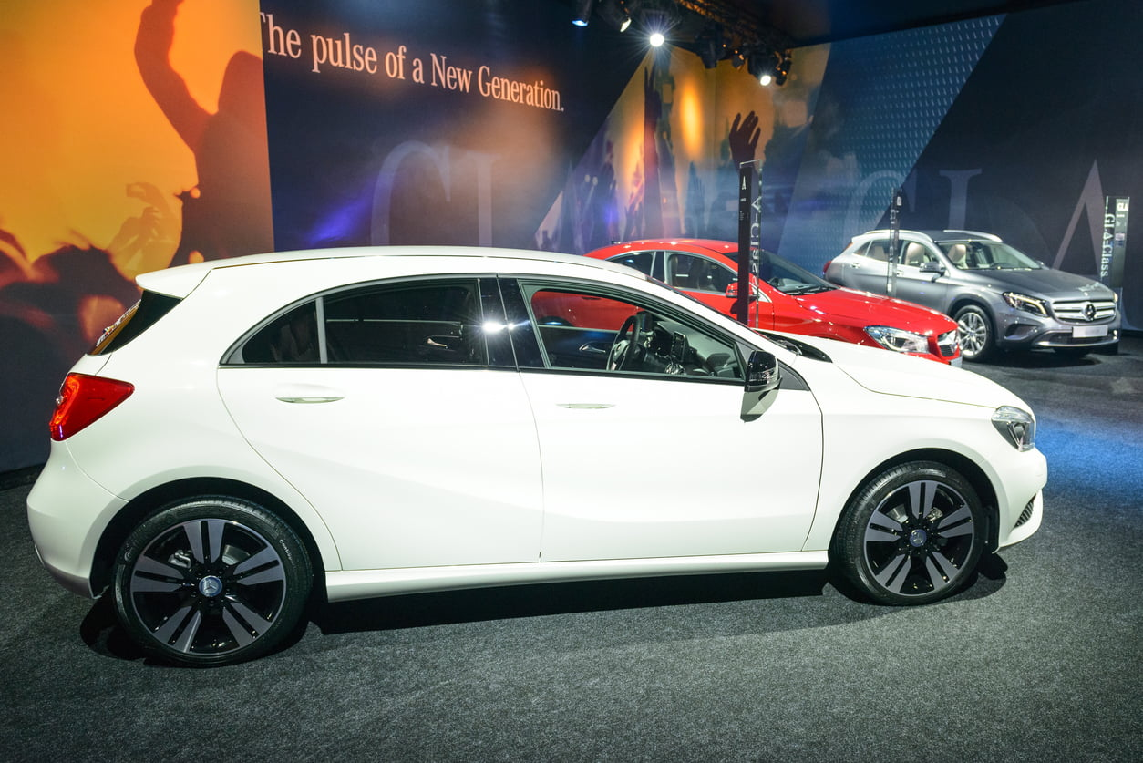 image of mercedes a class
