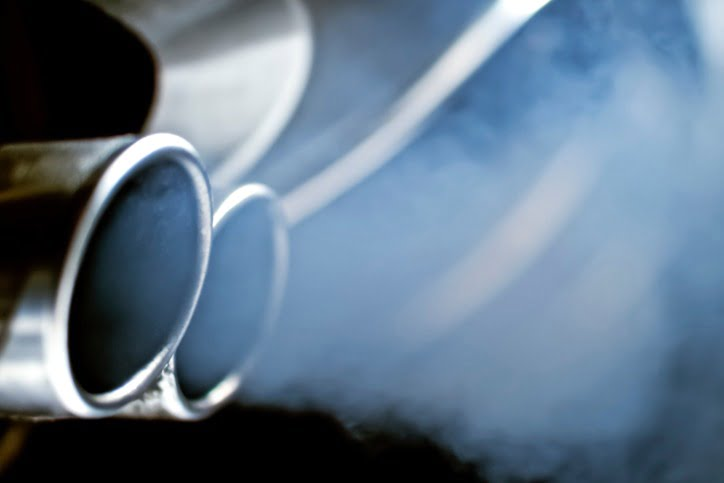 image of car exhaust