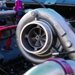Turbo charger car engine