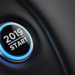 2019 start car button