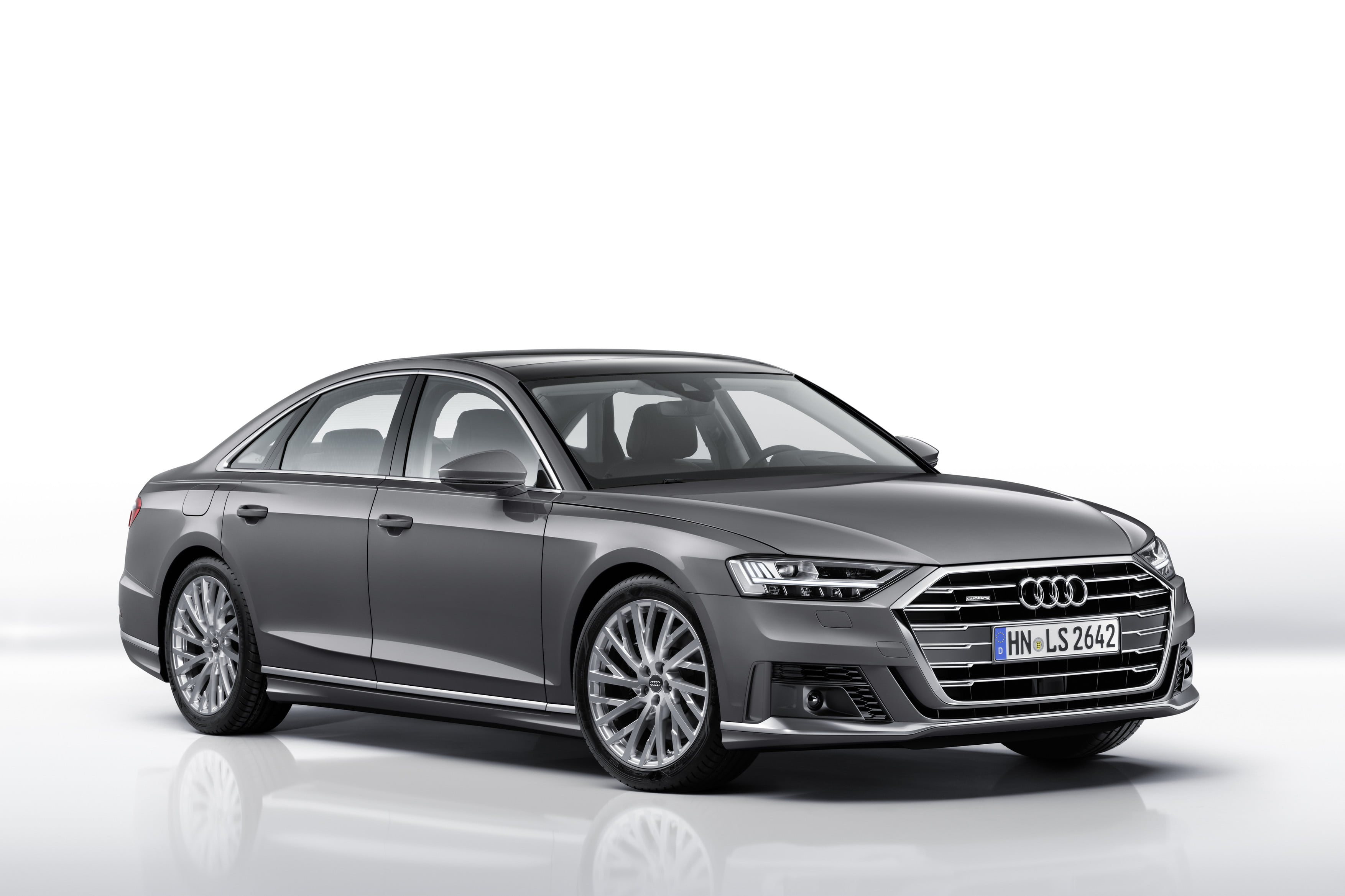 Audi A8 with driverless tech