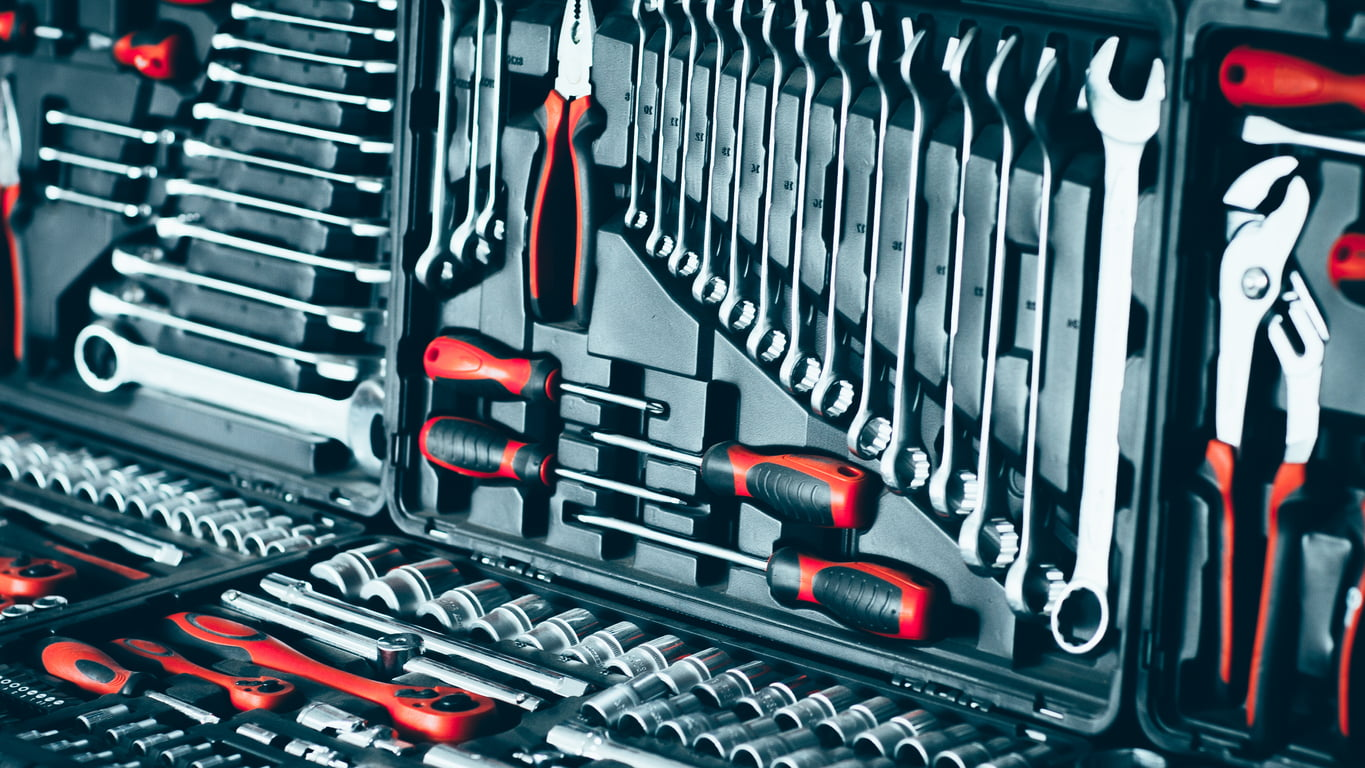 Tools needed to build your own car