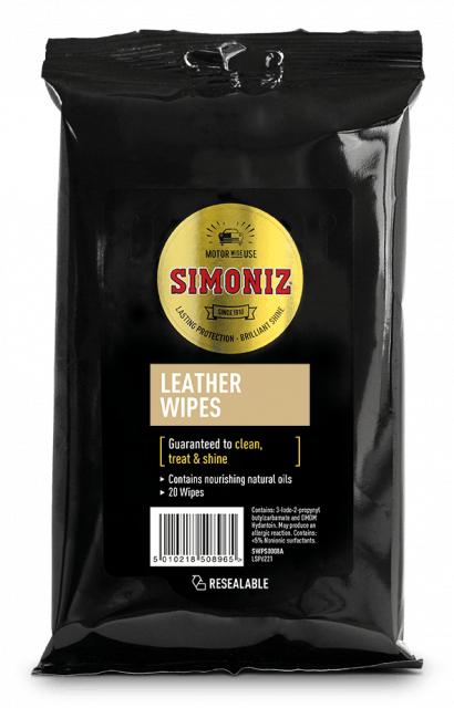 Simoniz Leather Wipes