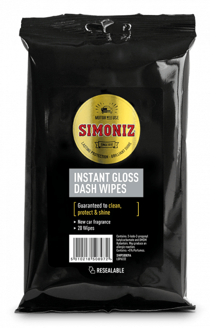 Simoniz Gloss Dash Wipes