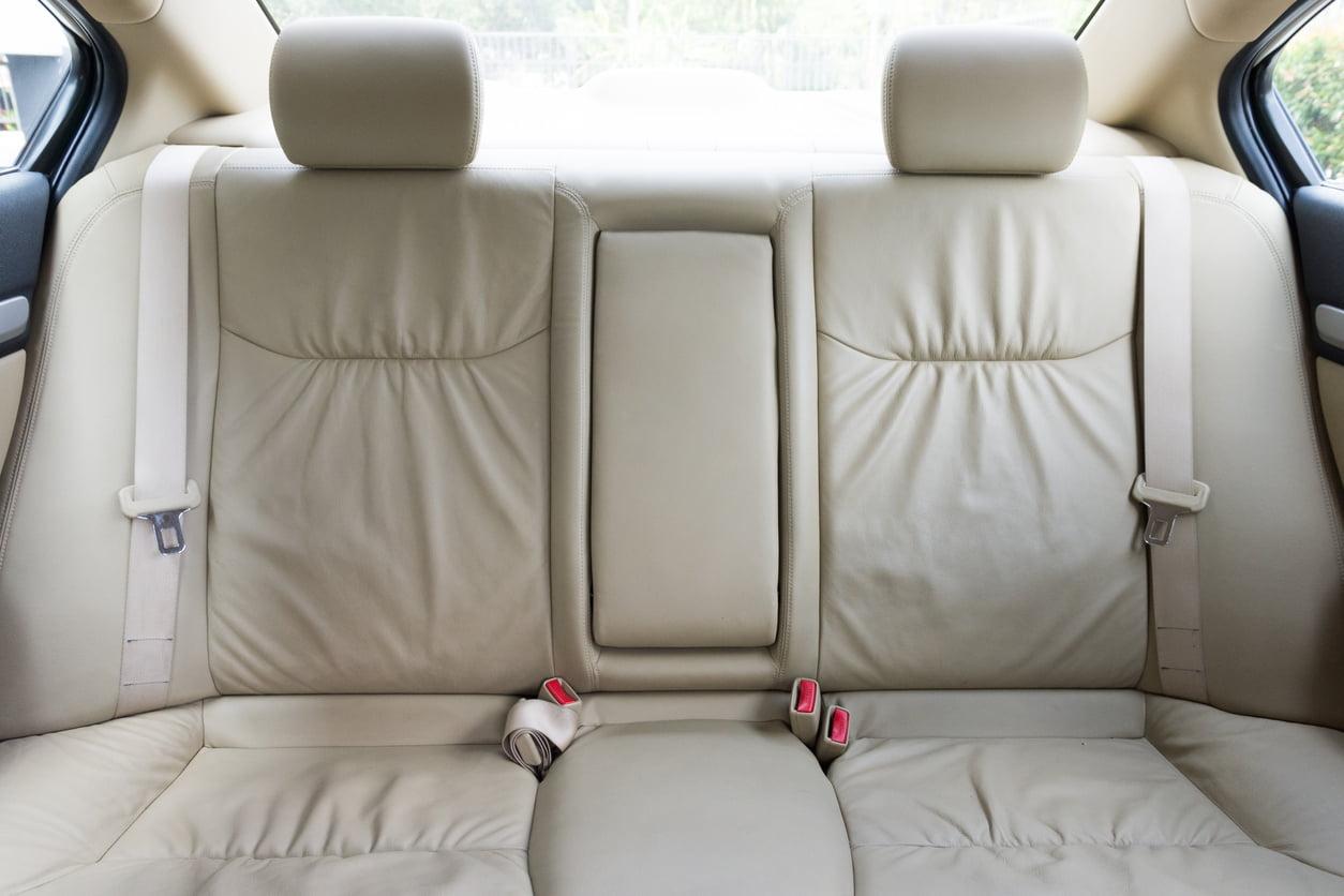 back passenger seat