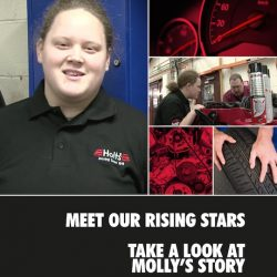 Holts Rising Stars – Meet our Rising Stars, Take a look at Molly's Story