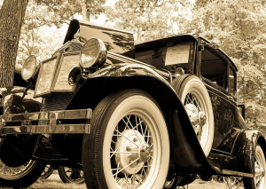 Old classic car