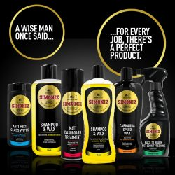 Simoniz range – for every job there's the perfect product