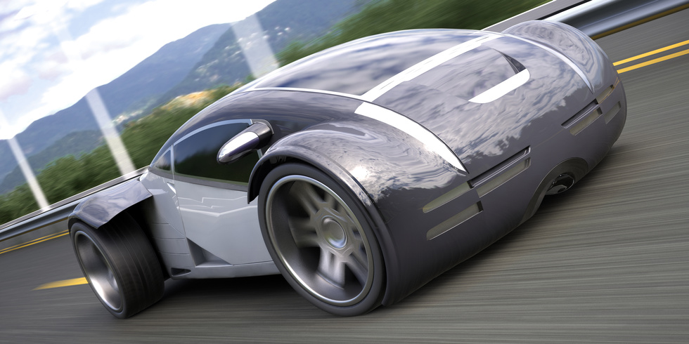 futuristic car features