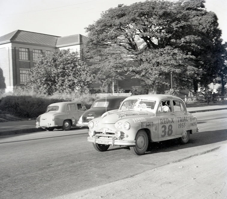 Car 38 REDex trial 1955