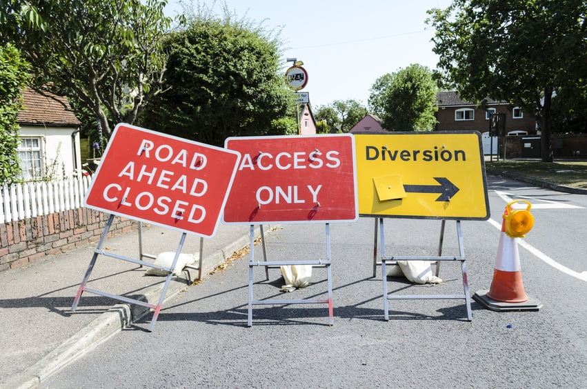 road works increase in number during the summer