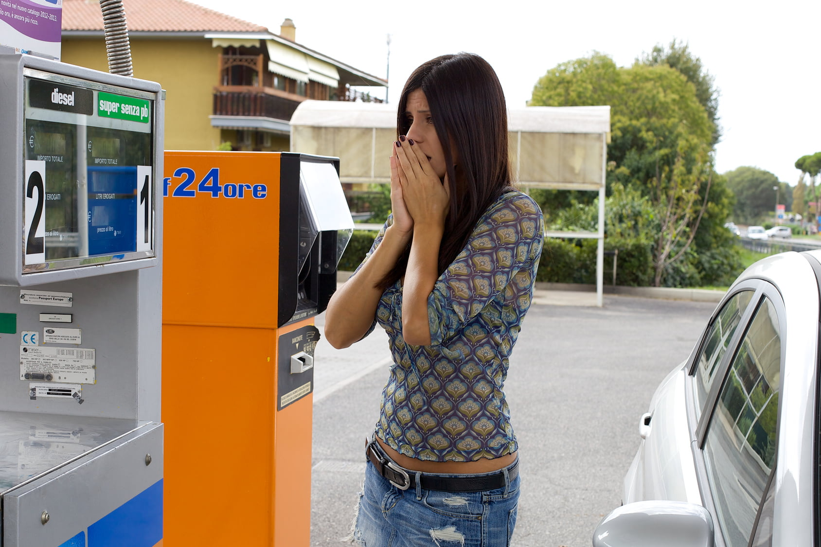 Feeling angry for high price of gasoline