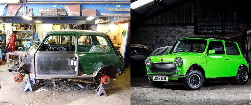 Thinking Of Restoring A Classic Car We Chat To The Experts - All old cars