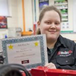 Holts Rising Star Mechanic Molly with Certificate
