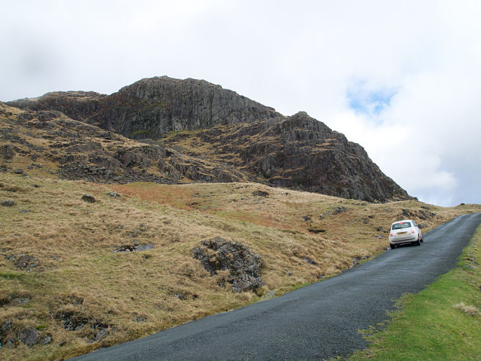 Accidentally took my car up the joint steepest road in England, Hardknott Pass. Fun, if scary.